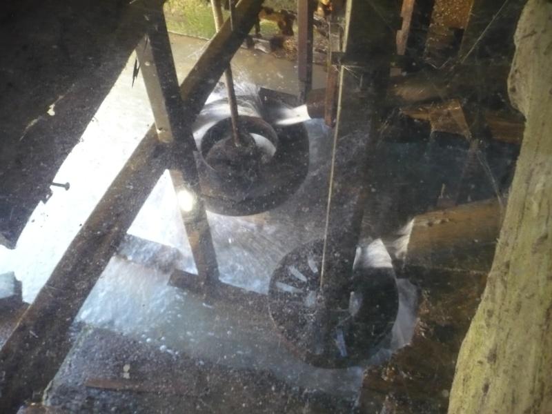moulin à roues horizontales