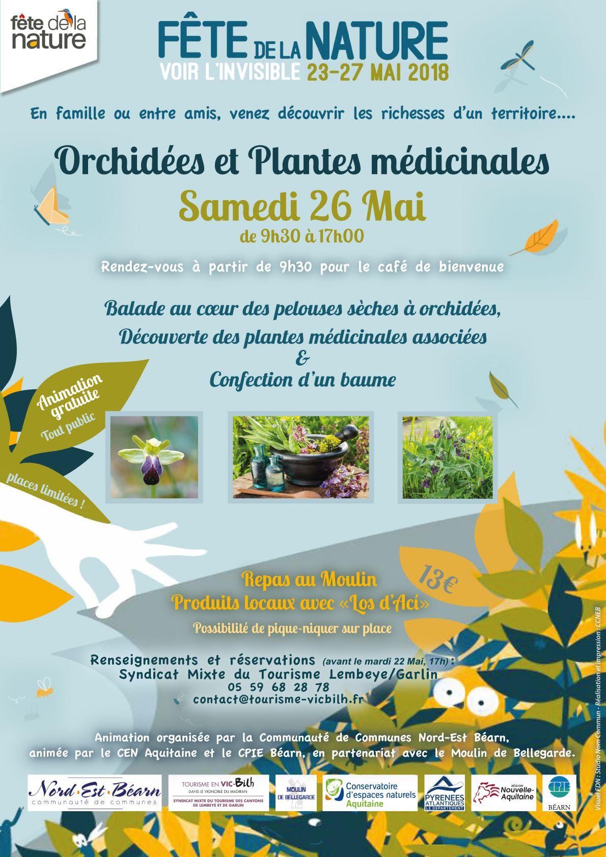 Orchidées et plantes médecinales