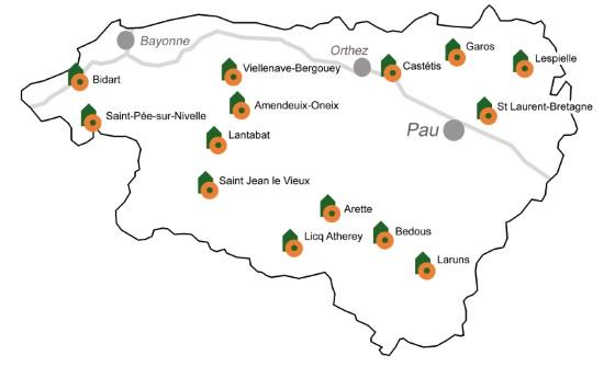 moulins à visiter Pyrénées Atlantiques