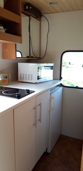 cuisine de la caravane